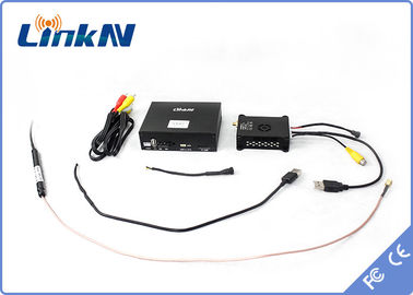 20Km Mini COFDM UAV Video Transmitter , Professional Long Range Wireless Video Transmitter